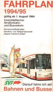 Fahrplanheft 1994