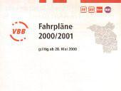 Fahrplanheft 2000