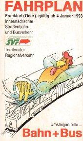 Fahrplanheft 1993