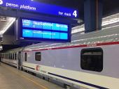 Berlin-Warszawa-Express in Warszawa Centralna